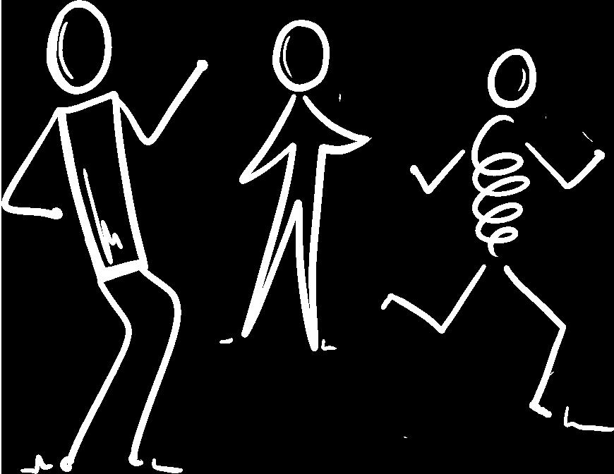 personnages en réflexion